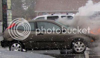 Ford Focus pega fogo