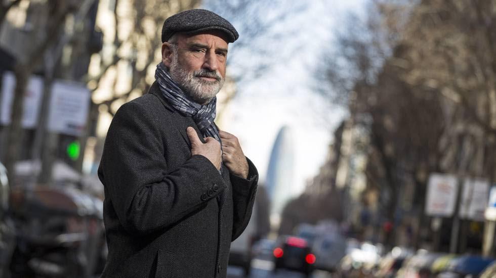 El escritor vasco Fernando Aramburu, el pasado febrero en Barcelona.