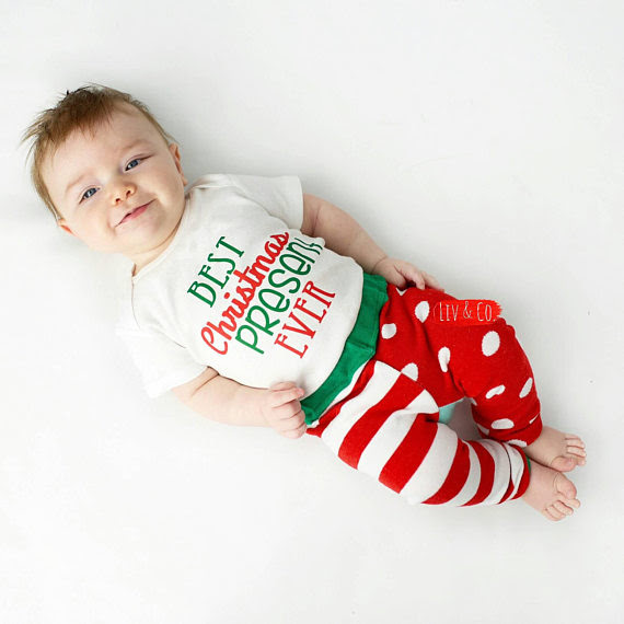 Best Christmas Present Ever Newborn Infant Baby Boy Or Girl
