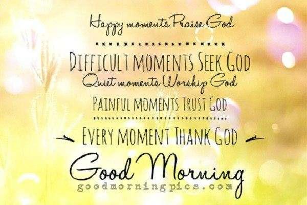 Good Morning Praise God Quotes Archidev