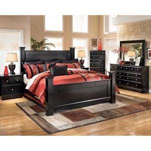 nebraska furniture mart ashley  piece shay king bedroom