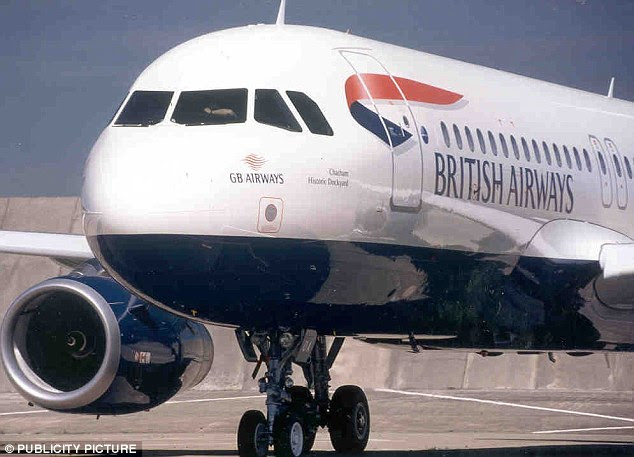 Deceased: A British Airways stewardess who has died after catching malaria in Africa (file photo)