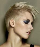 Frisur Sidecut Frau