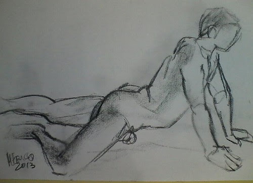 Life drawing by dibujandoarte