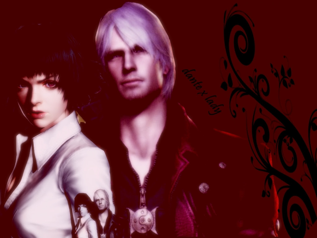 Dante And Lady Devil May Cry Wallpaper 15220707 Fanpop