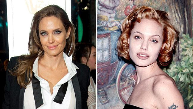 Angelina Jolie From Goth Girl To Earth Mother Bt