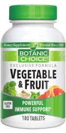 Vegetable / Fruit 180 tablets