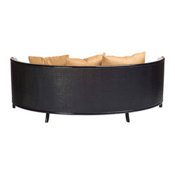 Barbara Barry Curved Back Sofa Home Products on Houzz