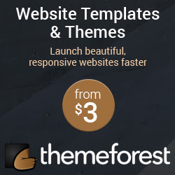 themeforest dizainebi