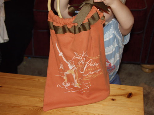 Lucky t-shirt tote