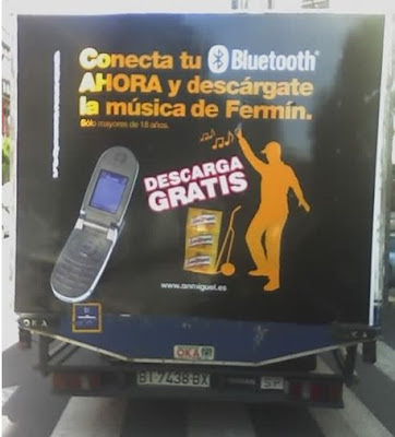 Bluetooth en camión de reparto san miguel