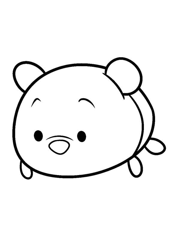 Disney Tsums Coloring Pages  Cooloring.com