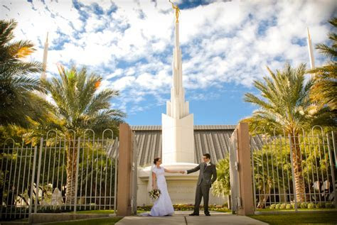 In and Out Wedding {Las Vegas LDS Temple} » Little Vegas