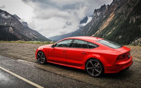 Audi RS7 2015 Car Wallpaper HD Widescreen Resolution