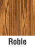 Muebles de madera en roble