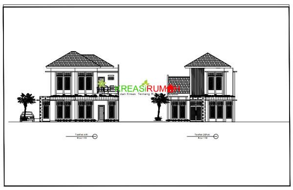 Desain Rumah Limasan Jawa Modern