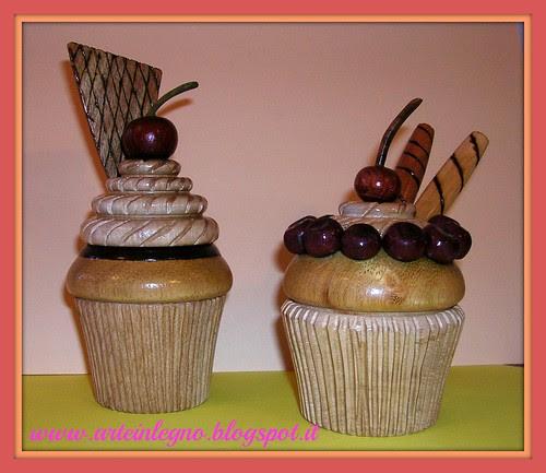 Arte in legno - cupcakes 3e4 by arte in legno