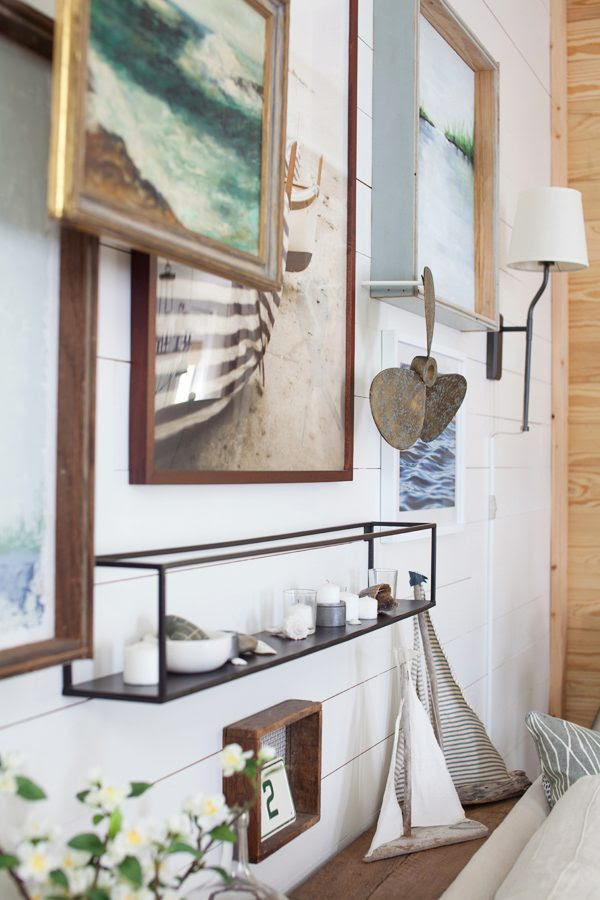 Sofa Table | Gallery Wall | Coastal | Lake | Cottage