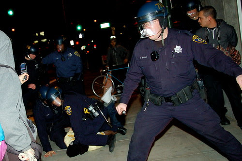 Police Violence in Oakland Over BART Shooting