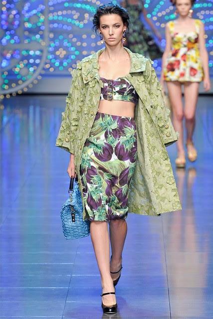 Dolce Gabbana Spring 2012