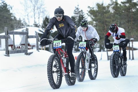 The 2015 Milky Way Intergalactic Fat Bike Championships in Barrie, Ont. Photo credit: Peter Hein