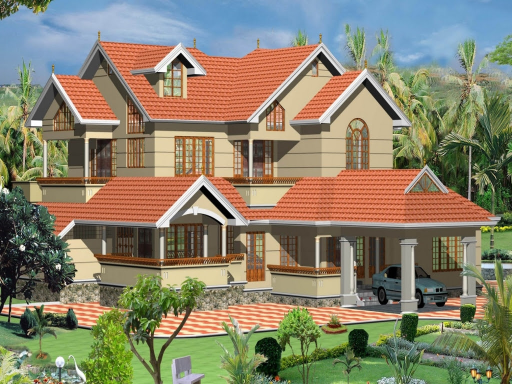 4 different style India house elevations | home appliance