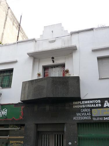 Art Deco building in San Telmo