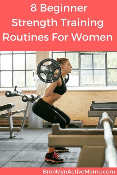 beginner full strength training plans  women