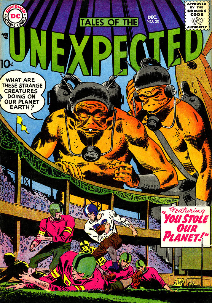 Tales of the Unexpected #20 (DC, 1957) Leonard Starr cover