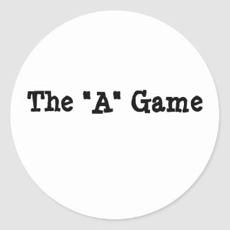 """The """"A"""" Game"""
