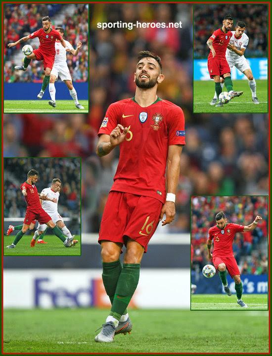 Bruno FERNANDES - 2019 EUFA Nations League Champions ...