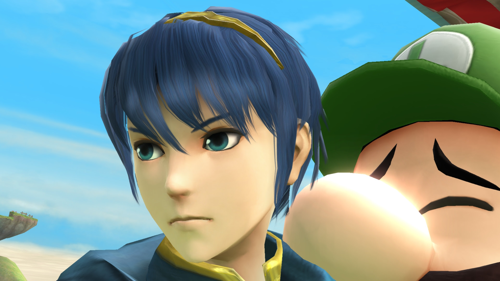 Here is a look at Marth and Chrom in Fire Emblem Warriors screenshot