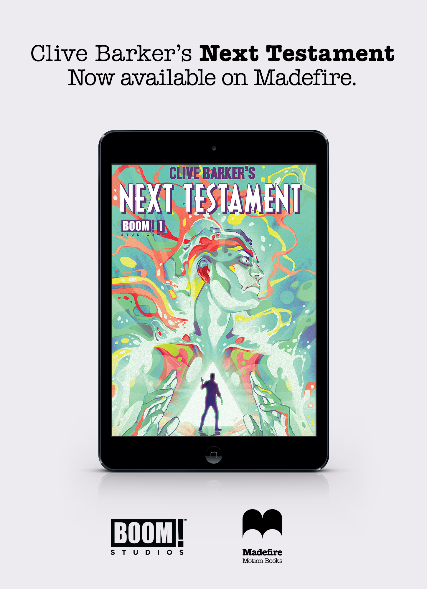 Next Testament #1 Motion Book