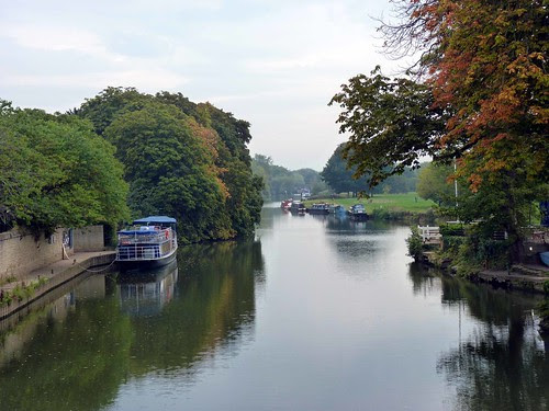 The River Thames, Abingdon - From the Bridge