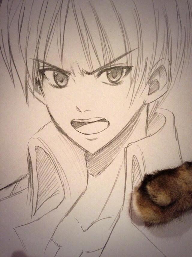 Crunchyroll Otaku Idol Shokotan Draws Stars Of Attack On Titan