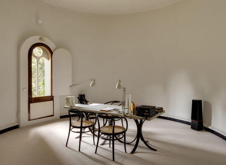 Ricardo Bofill casa personal cemento 11