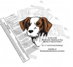 Old Croatian Sighthound Intarsia or Yard Art Woodworking Pattern - fee plans from WoodworkersWorkshop® Online Store - Old Croatian Sighthound Dogs,pets,intarsia,yard art,painting wood crafts,scrollsawing patterns,drawings,plywood,plywoodworking plans,woodworkers projects,workshop blueprints