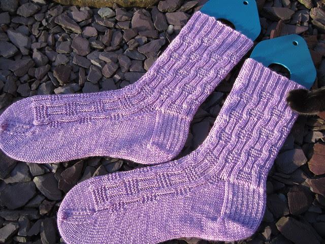 lilac Roger socks (4)
