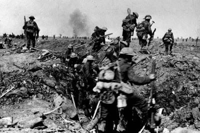 The-battle-of-the-Somme-in-the-First-World-War
