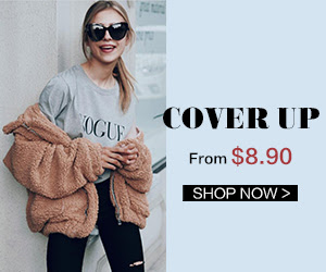 Perfect Outfit For The New Season - Cover Up From $8.90 !