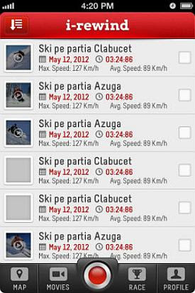 i rewind Info Ski și i Rewind   aplicații Orange