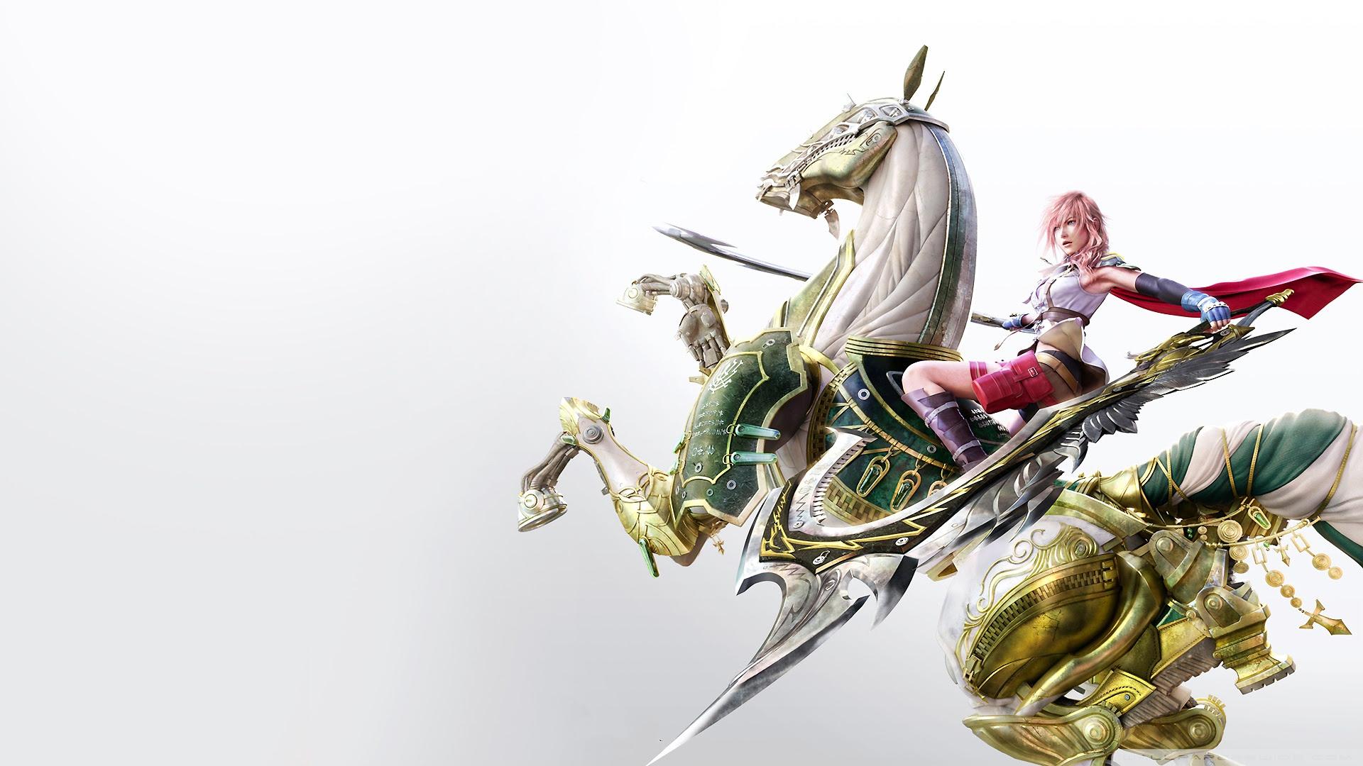 Final Fantasy Xiii Lightning Ultra Hd Desktop Background