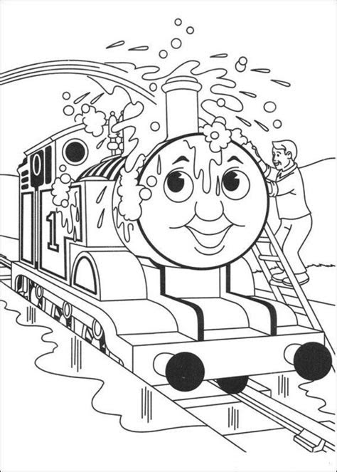 Thomas the Tank Engine Coloring Pages (4) | Coloring Kids