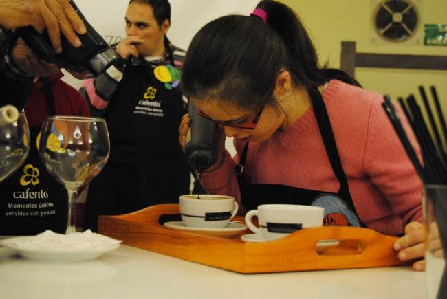 latte art III barista down galicia 21122014