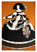 Manolo Valdés - Mariana IV (Prints) h: 105 x w: 71.5 cm / h: 41.3 x w: 28.1 in