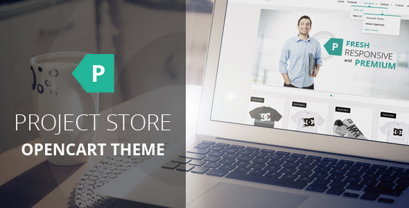 Project Store Responsive OpenCart Theme