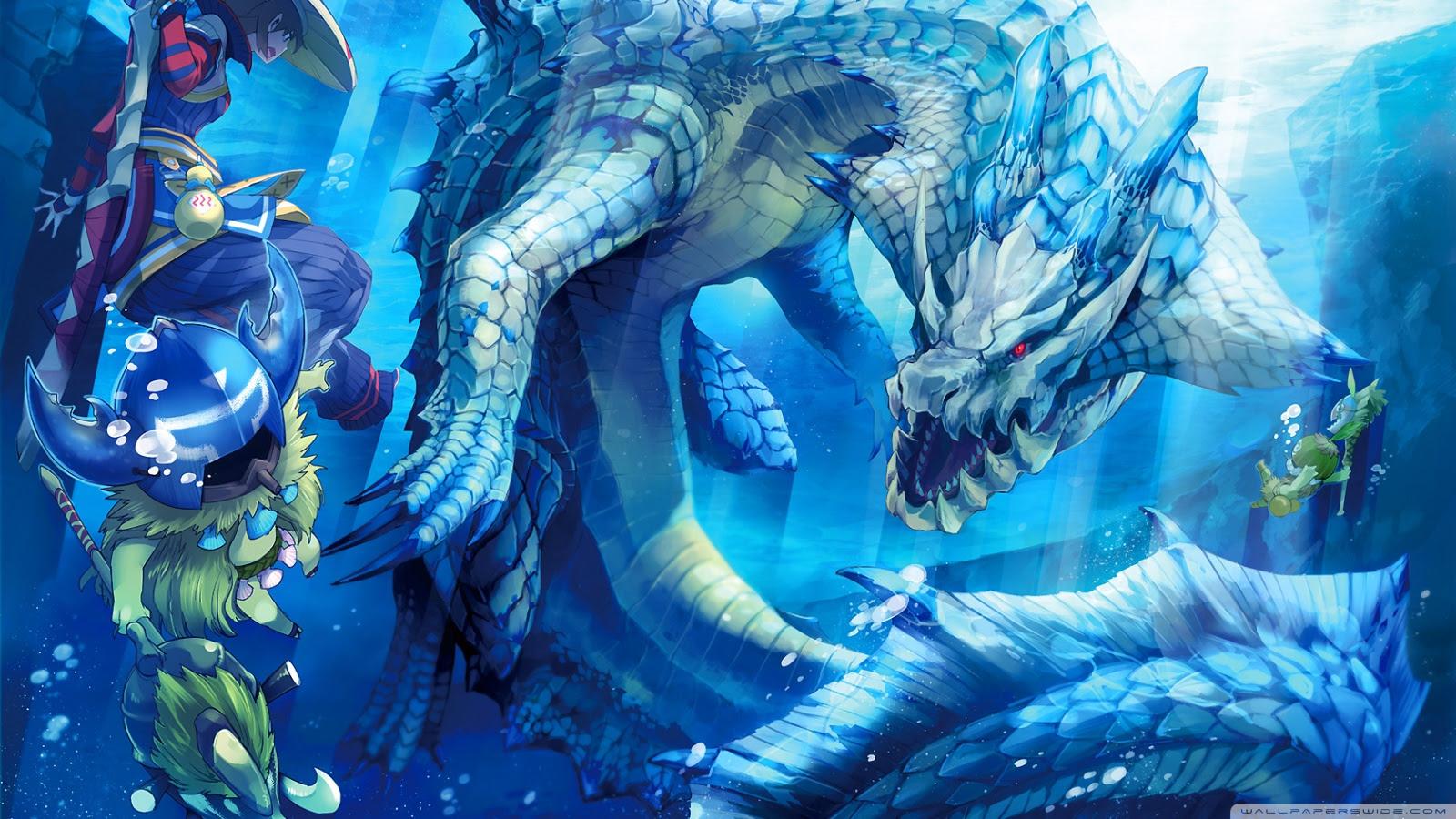 Monster Hunter Ultra Hd Desktop Background Wallpaper For 4k Uhd Tv