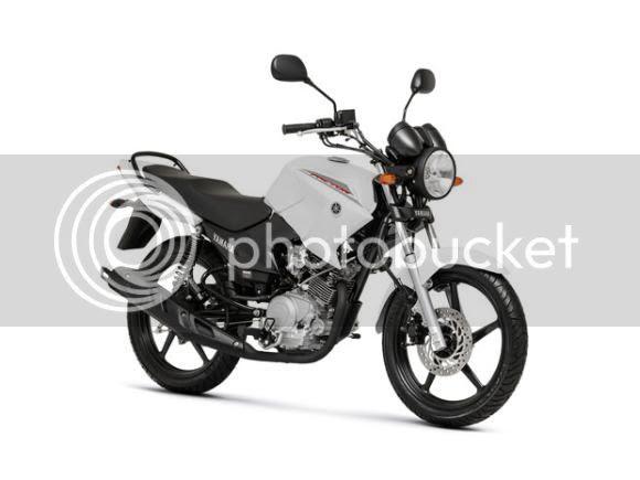 Yamaha YBR Factor 125 ED Branca modelo 2014