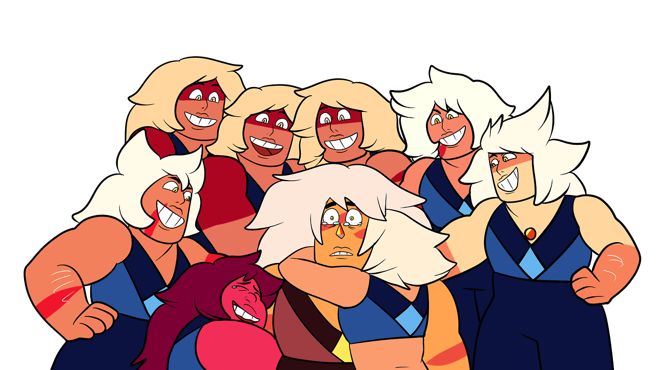 the reunion of the ones who made it back   BONUS:   jasper in a serious case of denial   wouldnt it be fucked up if, in her corrupted state, jasper saw visions of her fellow betas being shattered so much that when she finally meets them again, she doesnt think theyre real haha