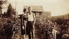 My grandparents at the first house
